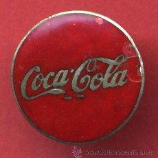 Coleccionismo de Coca-Cola y Pepsi: INSIGNIA O PIN , ANTIGUA , PUBLICIDAD DE COCA COLA , ESMALTE , ORIGINAL , H2. Lote 53336468