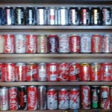 Coleccionismo de Coca-Cola y Pepsi: COLECCION DE 90 LATAS DE COCA COLA. Lote 53364112