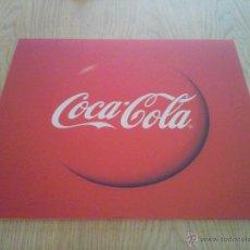 Coleccionismo de Coca-Cola y Pepsi: METACRILATO PUBLICITARIO COCA-COLA ORIGINAL NUEVO EN PERFECTO ESTADO. 43X37 CM. Lote 53585050