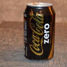 Coleccionismo de Coca-Cola y Pepsi: LATA VACÍA DE COCA-COLA ZERO SIN CAFEINA. Lote 54478035