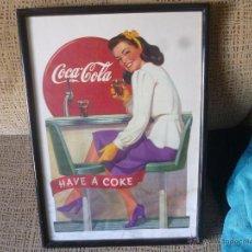 Coleccionismo de Coca-Cola y Pepsi: CUADRO DE COCA-COLA. Lote 54651670