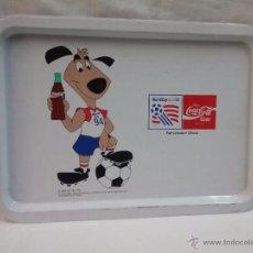 Coleccionismo de Coca-Cola y Pepsi: BANDEJA DE COCA COLA MUNDIAL DE FÚTBOL USA 1994 . Lote 54732189