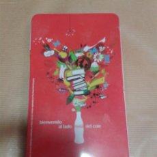 Coleccionismo de Coca-Cola y Pepsi: CAJA PINTURAS O LAPICES DE COLORES DE LATA DE PUBLICIDAD DE COCA COLA. Lote 55092683