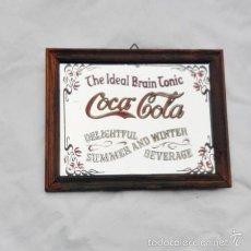 Coleccionismo de Coca-Cola y Pepsi: ESPEJO CARTEL DE COCA-COLA. Lote 55094397