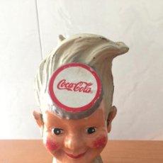 Coleccionismo de Coca-Cola y Pepsi: HUCHA COCA COLA HIERRO MECHANICAL BANK COCA-COLA. Lote 55818724