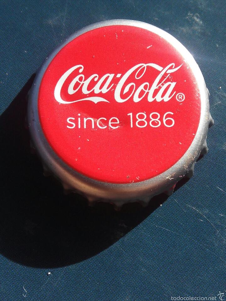 Chapa tapon corona de coca cola since 1886 comprar - Chapa coca cola pared ...