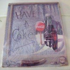 Coleccionismo de Coca-Cola y Pepsi: CHAPA COCA-COLA METALICA NUEVA. Lote 56020241