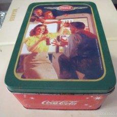 Coleccionismo de Coca-Cola y Pepsi: CAJA COCA COLA MEDIANA. Lote 56020334