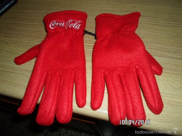 Coleccionismo de Coca-Cola y Pepsi: GUANTES DE COCA COLA,TOTALMENTE NUEVOS - Foto 3 - 56025362