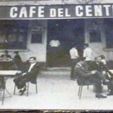 Coleccionismo de Coca-Cola y Pepsi: PRECIOSA FOTOGRAFIA FOTO ANTIGUA BAR CAFE DEL CENTRO PUBLI COCA COLA Y PEPSI 18/ 8 CM. Lote 56051463