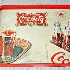 Coleccionismo de Coca-Cola y Pepsi: BANDEJA COCA COLA 48X35. Lote 56250064
