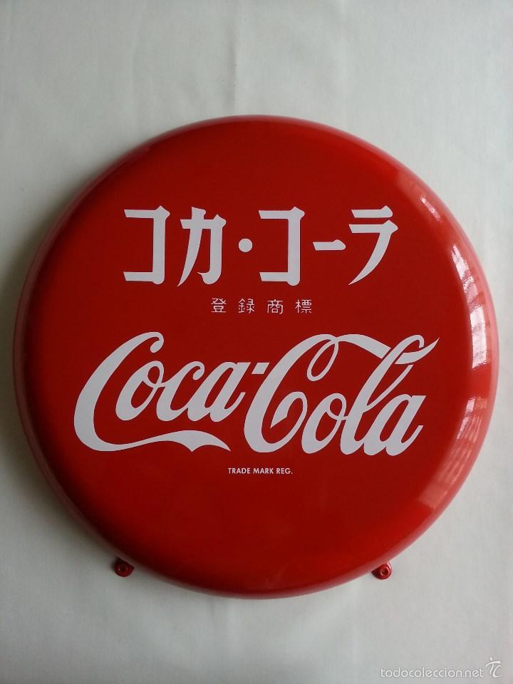 Coca cola placa chapa de jap n coca cola japan comprar - Chapa coca cola pared ...