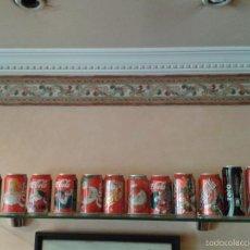 Coleccionismo de Coca-Cola y Pepsi: LOTE 12 LATAS DE COCA COLA 9 CON TEMAS NAVIDEÑOS TODAS DISTINTAS-MIRA FOTOS-TODAS VACIAS. Lote 91433157