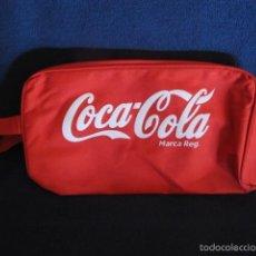 Coleccionismo de Coca-Cola y Pepsi: BOLSA ESTUCHE COCA COLA TELA CON CREMALLERA. Lote 56465487