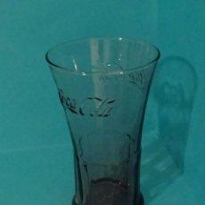 Coleccionismo de Coca-Cola y Pepsi: VASO COCA-COLA COLOR VIOLÁCEO. ALTURA 14 CM. Lote 56968317