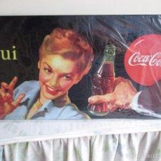 Coleccionismo de Coca-Cola y Pepsi: 22/ CARTEL O CHAPA METÁLICA DE COCA COLA - EDICIÓN 2007. Lote 57108929