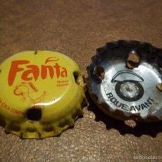 Coleccionismo de Coca-Cola y Pepsi: RARISIMA Y DIFICIL CHAPA FANTA AFRICAN SOBOA SENEGAL TRASERA ROUE AVANT MOTOCYCLE 2006. Lote 57123387