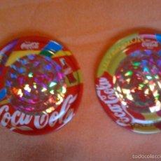 Coleccionismo de Coca-Cola y Pepsi: 2 RAPPERS 3D SIEMPRE COCA COLA HOLOGRAMA BOTELLA, EDIC. LIMITADA MAGIC BOX INTERNATIONAL 25 PUNTOS. Lote 57139189