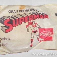 SOBRE CERRADO CON INSIGNIA DE SUPERMAN PREMIUM DE COCA COLA