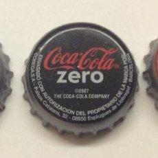 Coleccionismo de Coca-Cola y Pepsi: CHAPA COCA-COLA, COCA-COLA LIGHT, COCA-COLA ZERO. Lote 57854743