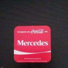 Coleccionismo de Coca-Cola y Pepsi: POSAVASOS COCA COLA CON NOMBRE MERCEDES. Lote 58350682
