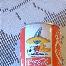 Coleccionismo de Coca-Cola y Pepsi: LATA DE COCA COLA MUNDIAL MÉXICO 86. PIQUE. SIN TAPA.. Lote 77713695