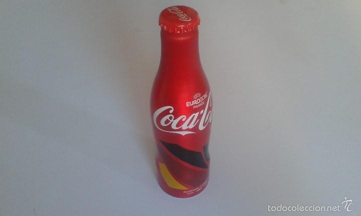 BOTELLA ALUMINIO COCA COLA -- UEFA -- EURO2016 ( FRANCE ) -- 250 ML -- ALEMANIA CAMPEÓN 72, 80, 96. (Coleccionismo - Botellas y Bebidas - Coca-Cola y Pepsi)