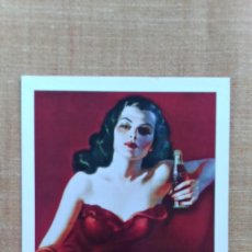 Coleccionismo de Coca-Cola y Pepsi: POSTAL COCA COLA SIN CIRCULAR.. Lote 59928911