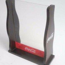 Coleccionismo de Coca-Cola y Pepsi: EXPOSITOR DE MADERA DE COCA-COLA. Lote 60322075