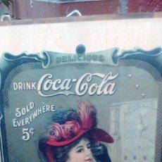 Coleccionismo de Coca-Cola y Pepsi: ANUNCIO DE COCA - COLA. Lote 60762943