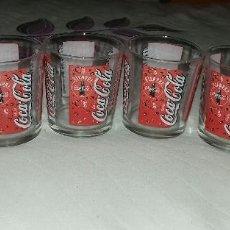 Coleccionismo de Coca-Cola y Pepsi: VASOS COCACOLA . Lote 61107795