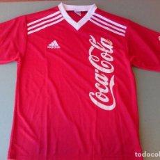 Coleccionismo de Coca-Cola y Pepsi: CAMISETA COCA COLA ADIDAS NUEVA. Lote 62401348