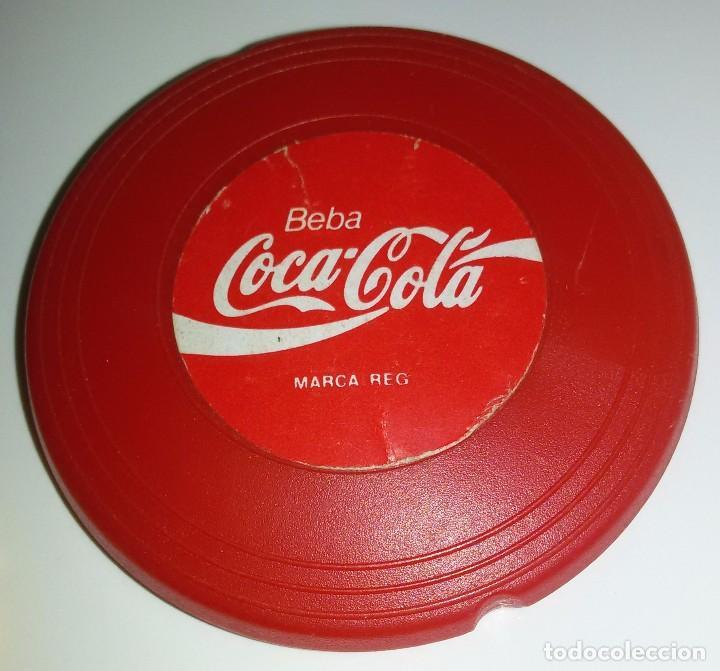 Coleccionismo de Coca-Cola y Pepsi: MINI FRISBEES PROMOCIÓN COCA COLA Y FANTA -COMPLETO- AÑOS 80 - Foto 5 - 62646764