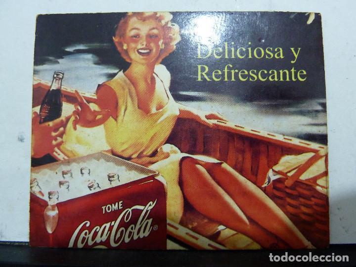 8 IMANES DE NEVERA PROPAGANDA DE COCA COLA (Coleccionismo - Botellas y Bebidas - Coca-Cola y Pepsi)