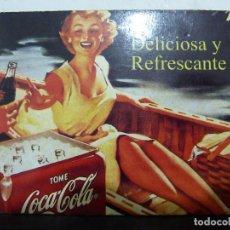 Coleccionismo de Coca-Cola y Pepsi: 8 IMANES DE NEVERA PROPAGANDA DE COCA COLA. Lote 62673108