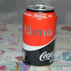Coleccionismo de Coca-Cola y Pepsi: LATA VACÍA DE COCA-COLA ZERO · COMPARTE UNA COCA-COLA CON ELENA. Lote 98770231