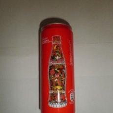 Coleccionismo de Coca-Cola y Pepsi: LATA COCA COLA DIBUJO MONUMENTOS PORTUGAL FLORESTA LAURISSILVA MADEIRA NUEVA SIN ABRIR. Lote 63128688