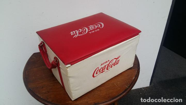 Coleccionismo de Coca-Cola y Pepsi: NEVERA PORTATIL AÑOS 60 O 70. - Foto 2 - 63528564