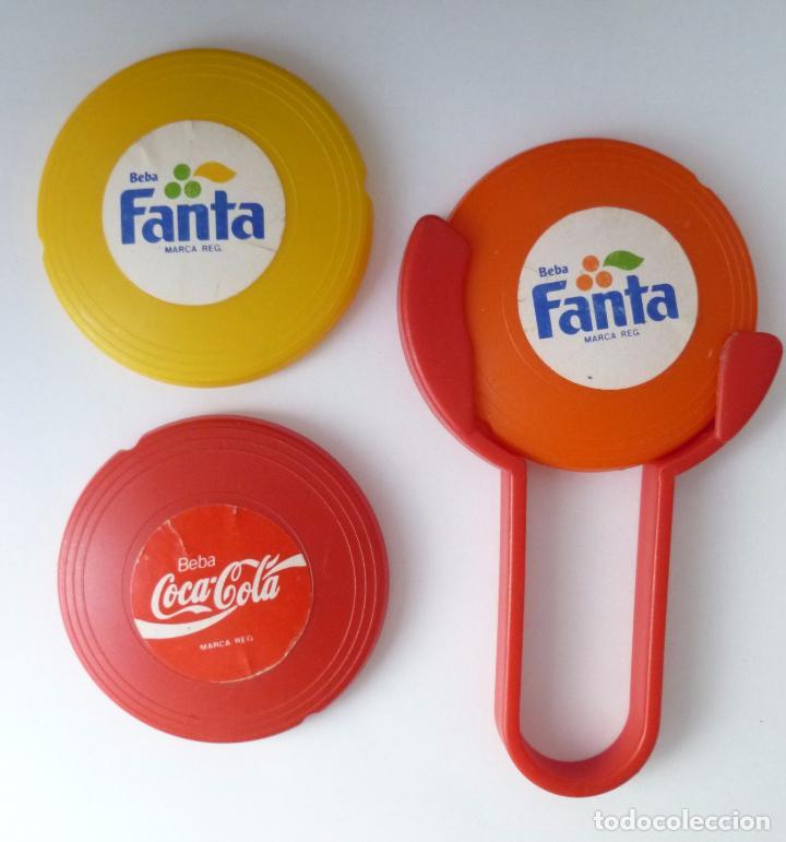 Coleccionismo de Coca-Cola y Pepsi: MINI FRISBEES PROMOCIÓN COCA COLA Y FANTA -COMPLETO- AÑOS 80 - Foto 8 - 62646764