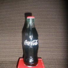 Coleccionismo de Coca-Cola y Pepsi: BOTELLA PUBLICITARIA DE COCA COLA,EN CRISTAL.. Lote 65858078