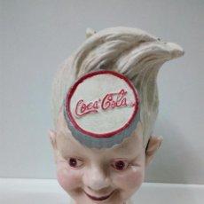 Coleccionismo de Coca-Cola y Pepsi: HUCHA DE COCA COLA . HIERRO COLADO. Lote 66034630