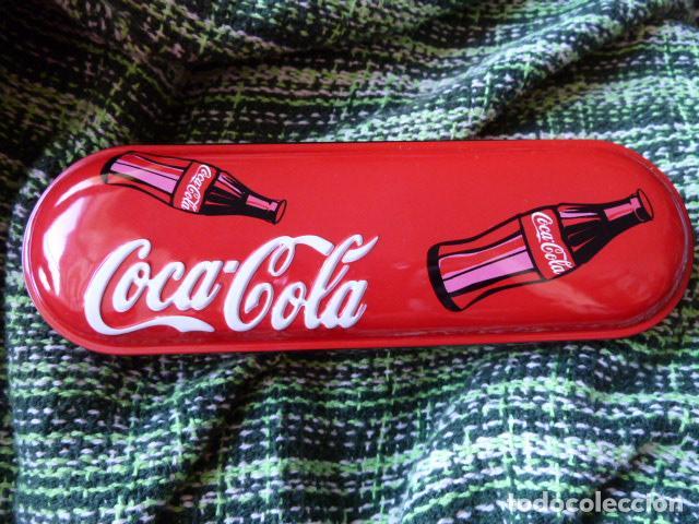 PLUMIER COCA COLA A ESTRENAR (Coleccionismo - Botellas y Bebidas - Coca-Cola y Pepsi)
