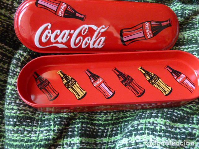 Coleccionismo de Coca-Cola y Pepsi: PLUMIER COCA COLA A ESTRENAR - Foto 2 - 66906806