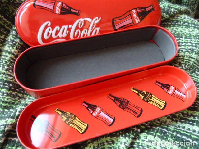 Coleccionismo de Coca-Cola y Pepsi: PLUMIER COCA COLA A ESTRENAR - Foto 3 - 66906806