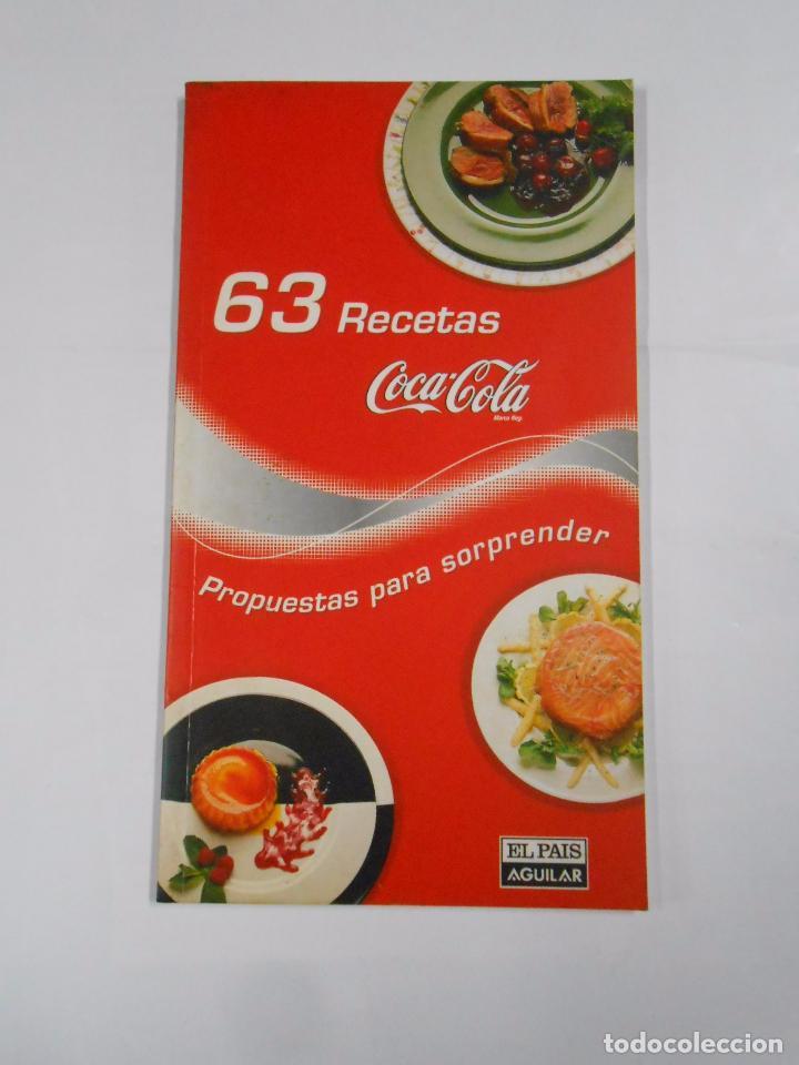 libro de cocina. 63 recetas coca cola coca-cola - Comprar ...