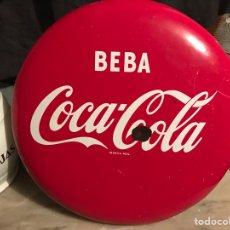 Coleccionismo de Coca-Cola y Pepsi: ANTIGUO CARTEL DE CHAPA DE COCA COLA ESMALTADO. Lote 68077134