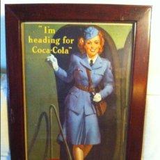 Coleccionismo de Coca-Cola y Pepsi: 1942 COCA-COLA CARDBOARD SIGN. ORIGINAL / ANTIGUO CARTEL COCA COLA 79X50,5CMS. Lote 68377477