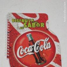 Coleccionismo de Coca-Cola y Pepsi: LIBRETA DE COCA COLA. 22CM POR 15CM.. Lote 68650325