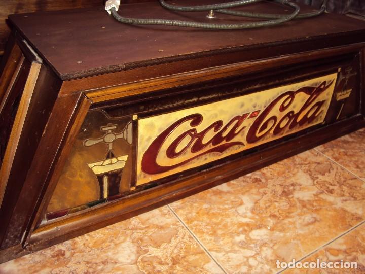 (ANT-161267)PRECIOSO LETRERO LUMINOSO COCA-COLA FINALES AÑOS 60 ??? (Coleccionismo - Botellas y Bebidas - Coca-Cola y Pepsi)