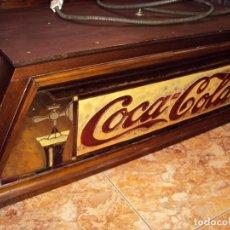Coleccionismo de Coca-Cola y Pepsi: (ANT-161267)PRECIOSO LETRERO LUMINOSO COCA-COLA FINALES AÑOS 60 ???. Lote 69256301